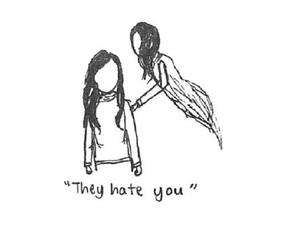 depression, sad, and alone image