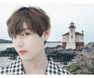 aesthetic, jimin, and v image