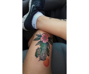 cactus, tatouage, and tattoo image
