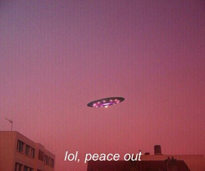 grunge, aesthetic, and alien image