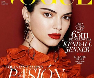spain, vogue, and kendall jenner image