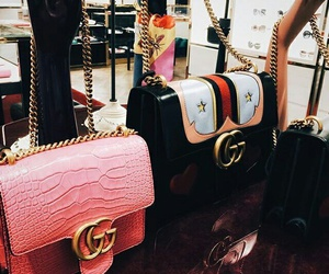 gucci, luxury, and purse image