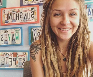 beautiful, dreads, and hippie image