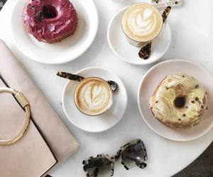 donuts and coffee image