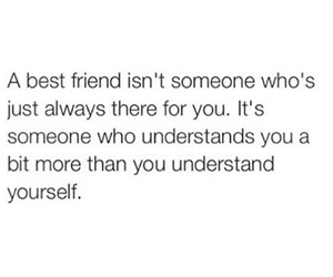 quote, best friends, and friendship image