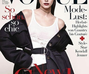 Vogue Germany and kendall jenner image