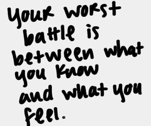 love, battle, and quote image