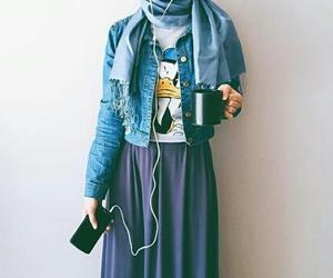 hijab and music image