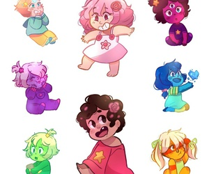 babys and steven universe image