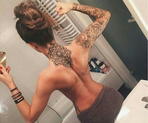 tattoo, back, and Tattoo Designs image