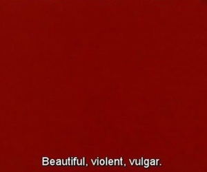 red, quotes, and aesthetic image