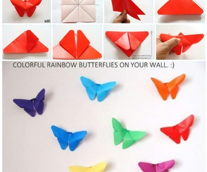 butterfly, creative, and diy image