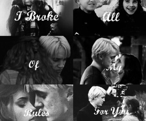 couples, hermione, and quotes image