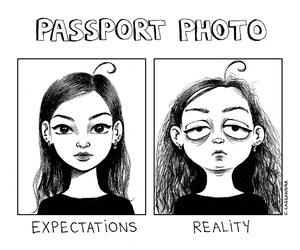 funny, reality, and comic image