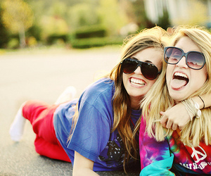 friends, girl, and smile image