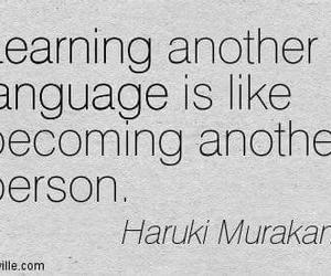 haruki murakami, languages, and quotes image