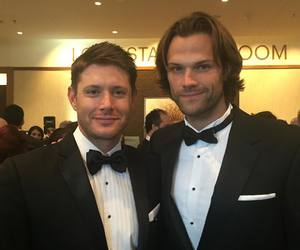 jared padalecki, Jensen Ackles, and supernatural image