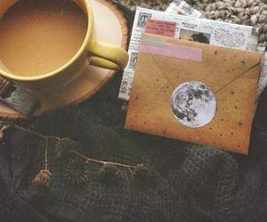 coffee, letters, and vintage image