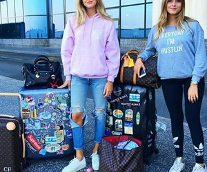 airport, ferragni, and chiara image
