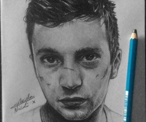art, draw, and twenty one pilots image