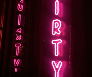 club, neon, and pink image
