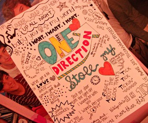 one direction and drawing image