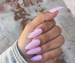 nail art, pink, and tumblr image