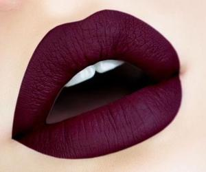 lips, lipstick, and makeup image
