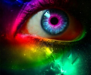 colors, pretty, and eye image