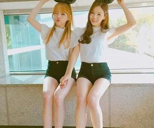 OMG, hyojung, and jine image