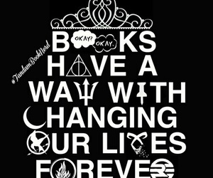 books, harry potter, and forever image