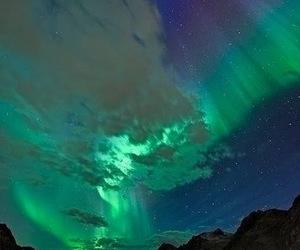 nature, northern lights, and sky image