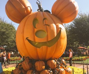 disneyland, Halloween, and micky mouse image