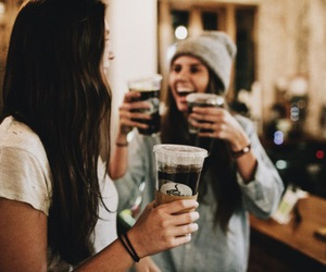 beer, coffee, and drink image