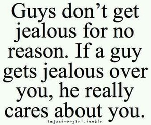 guy, jealous, and love image
