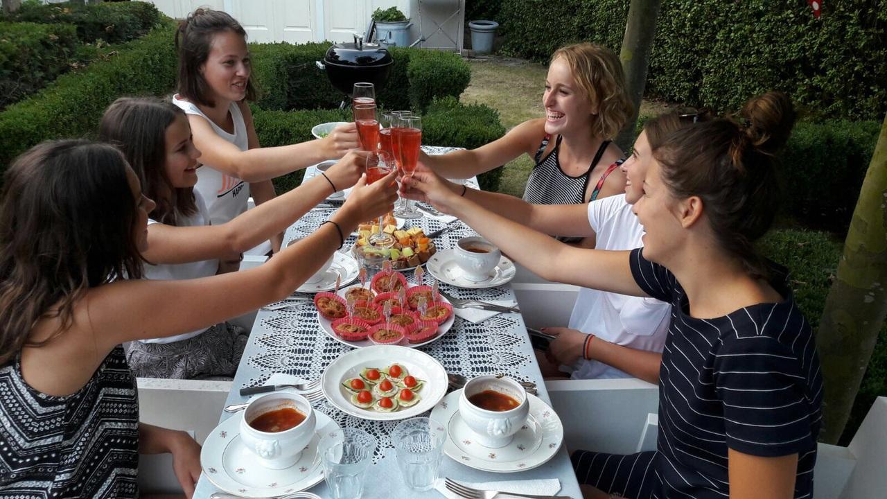 cheers, fashion, and food image
