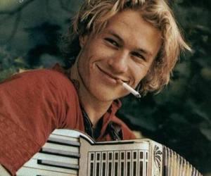 heath ledger, cigarette, and boy image