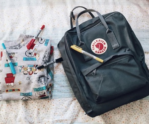 backpack, japan, and school supplies image