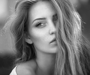 black&white, gorgeous, and photography image