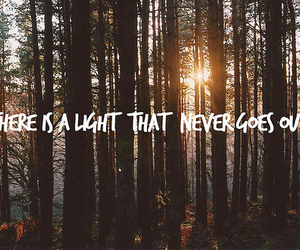light, quote, and text image