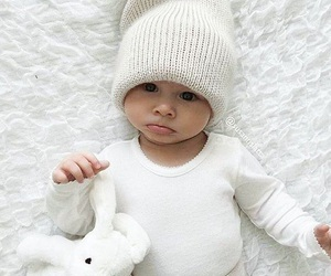 baby, love, and white image