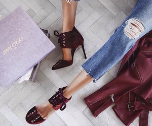 beautiful, luxury, and shoes image