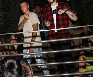 justin bieber, usher, and beliebers image
