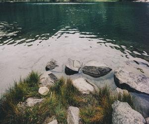 nature, background, and lake image