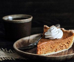 food, fall, and pie image