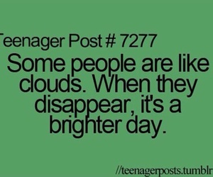 clouds, teenager, and teens image