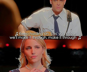 glee, music, and gleek image