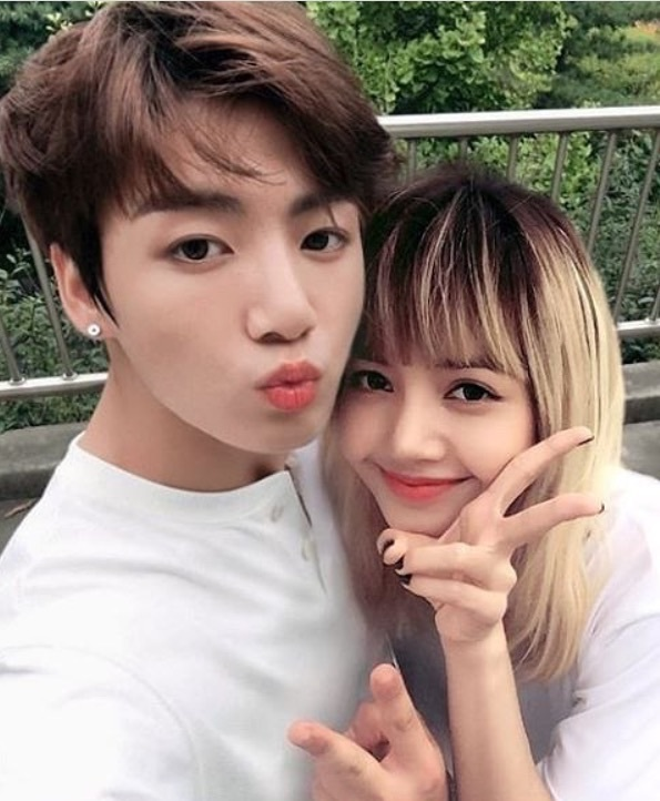Se confirma relación entre Lalisa Manoban y Jeon Jung Kook