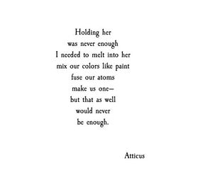 atticus, poem, and poems image