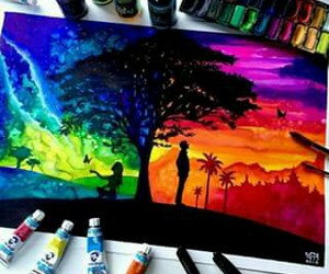 arte, art, and painting image